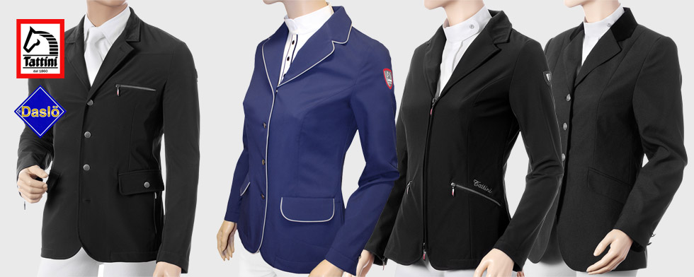 Wide range of Show Jackets