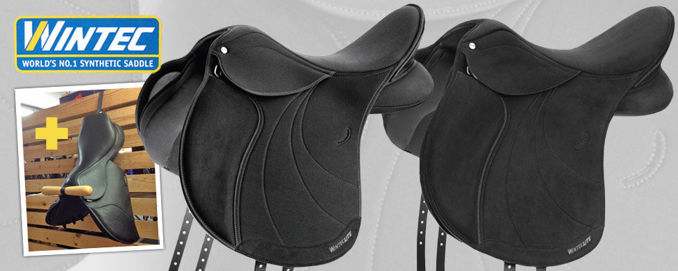 WintecLite saddles with free saddle holder