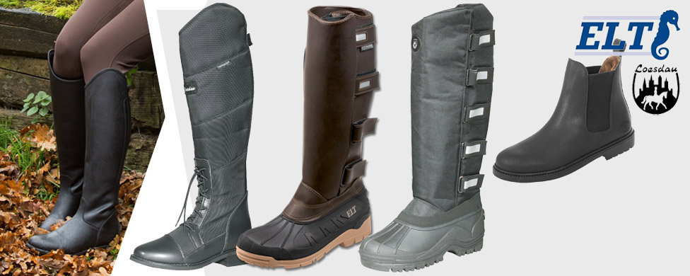 Thermo and synthetic fur lined boots