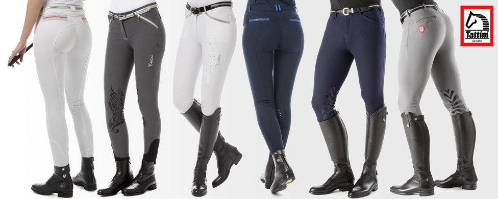 Tattini riding breeches with silicone grip