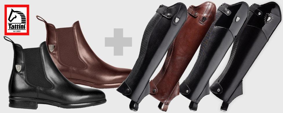 Chaps és cipő együtt