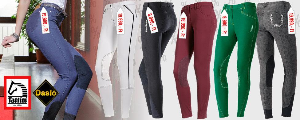 Extra kis/nagy női nadrágok kedvezménnyel