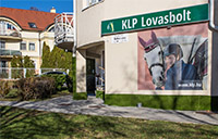 KLP store in Budapest