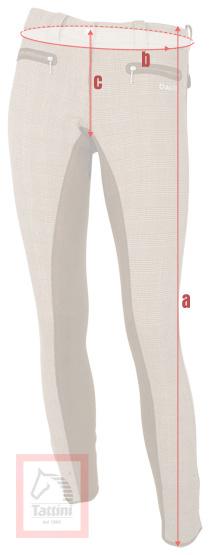 Breeches measurements