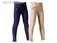 Daslö Childrens Breeches With Suede Knee Patch