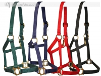 Nylon Halter With Slide Hook