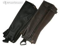 Daslo Leather Half Chaps