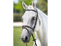 Tattini Headstall Shaped Stiched Eco Rubber Reins