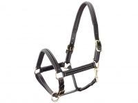 Tattini Leather Halter Double Padded Eco