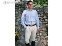 Daslö Gold Dedalo Men Breeches With Suede Knee Patch