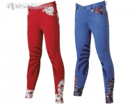 Daslö Girl Breeches With Silicone Knee Patch