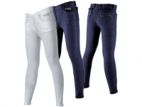 Daslö Primula Girls Pull-On Breeches With Ruches And Silicone Knee Patch
