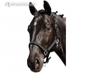 Halter With Rhinestones And Leadrope