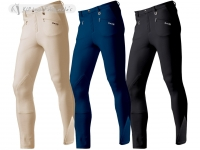 Daslö Men Breeches Close-Fitting With Knee Patch