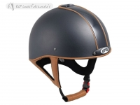 Gpa Jock Up Three Leather 2X Riding Helmet