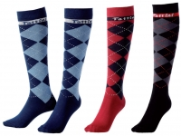 Tattini Tartan Riding Socks