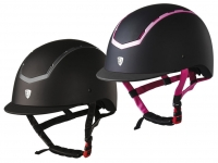 Tattini Rubber Coated Riding Cap With Shiny Inserts