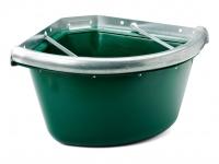 Etető Sarok Műanyag Fém Erősítéssel Szórásgátlóval (22 Liter)