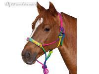 Western Rainbow Rope Halter