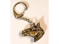 Kulcstartó Antikolt Lófej