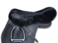 Real Lambskin Saddle Seat Cover