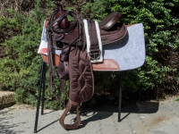 Brad Ren's Pleasure Western Saddle Complete Set