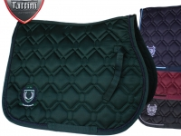 Tattini Double Quilted Saddle Cloth With Embroidery