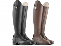 Tattini Breton Close Contact Laced Long Riding Tall Boots