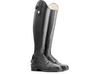 Tattini Boxer Close Contact Laced High Shin Long Riding Tall Boots