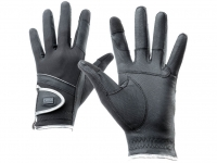 Tattini Gloves With Silver Profile