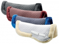 Daslö Saddle Pad With Synthetic Lambskin Pony