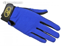 Synthetic Leather Race Gloves With Spandex