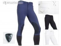 Tattini Men Breeches Acero With Suede Knee Patch