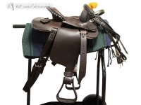 Complete Pony Western Saddle Set 10