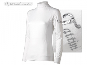Tattini Ladies Long Sleeved Stock Shirt With High Neck