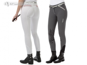 Tattini Ladies Betulla Breeches With Silicone Knee Patch