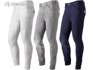 Tattini Men Olmo Breeches With Silicone Grip Knee Patch