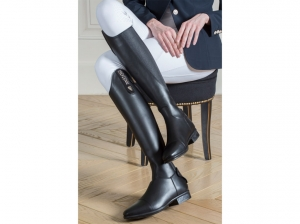 Tattini Terranova Long Riding Tall Boots With Grip Inserts
