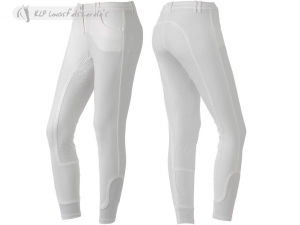 Tattini Ladies Kenzia Platinum Breeches Full Silicone Seat
