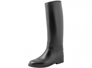 Rubber Riding Boots Black-Forest