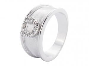 Gyűrű Patkós Strassz