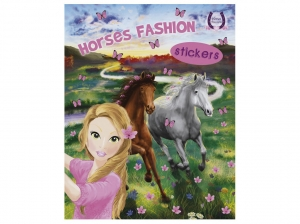 Horses Passion - Sticker 3 - Horses Fashion (Matricás Füzet)