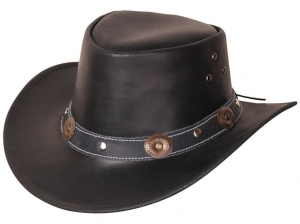 Rugged Earth Leather Western Hat For Children