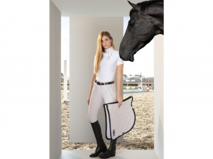 Tattini Ladies Show Shirt With Removable Bow