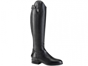 Tattini Bracco Grained Leather Long Riding Tall Boots