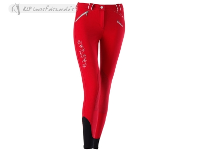 Tattini Ladies Cloe Breeches With Lurex And Suede Knee Patch