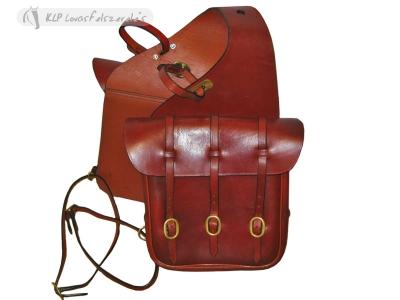 Saddle Bag With 3 Buckles