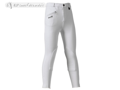 Daslö Children Breeches White With Self Knee Patch