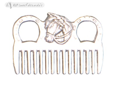 Mane Comb Metal