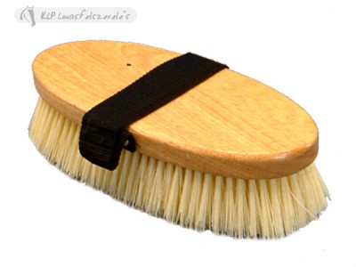 Oval Dandy Brush Synthetic/wooden